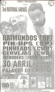 Primeiro show dos Raimundos em Curitiba, um pouco antes de estourar