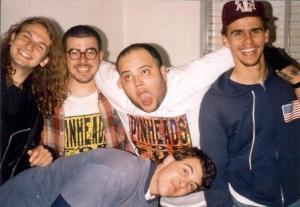 Gaudêncio, Júlio, João, Paulo e Dudu - 1993