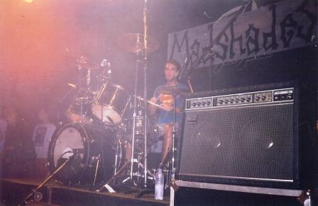 Dudu Munhoz, baterista dos Pinheads