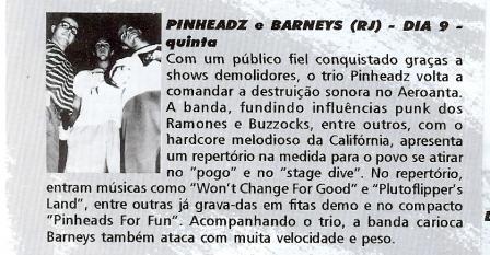 Pinheadz + Barneys