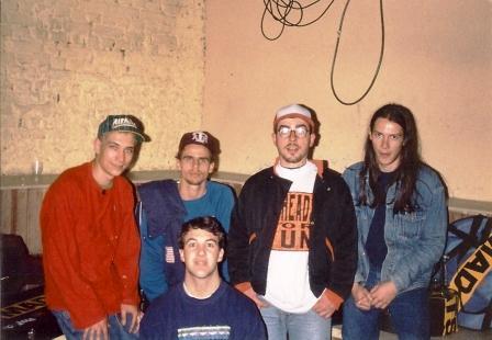 Pinheads + Farofa (Garage Fuzz) + Primo Renato (Slack Nipples), Aeroanta Sâo Paulo, 1993