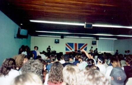 Primeiro show - 1991